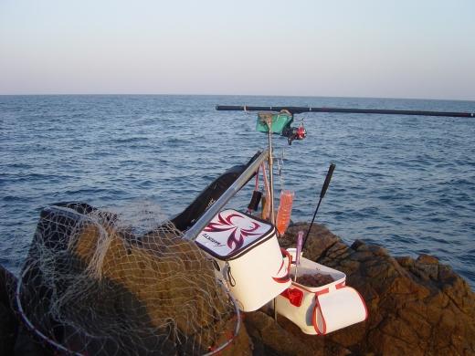 2今日の釣り座