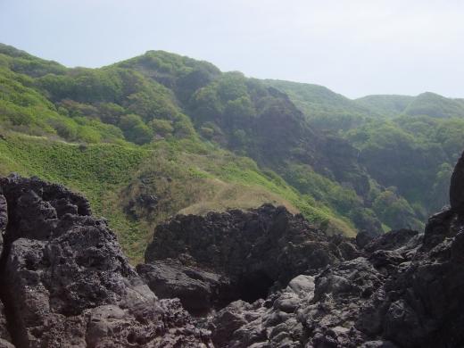 7船頭泣き島からの景色