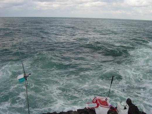 1潮瀬崎灯台下先端も荒れ荒れ