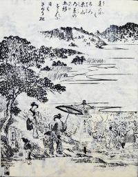 「都林泉名勝図会」より「赤山社」