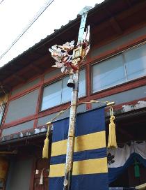 花園今宮神社の剣鉾