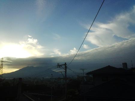 20140525の朝の桜島