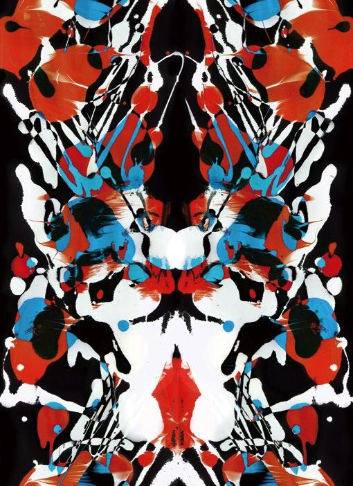 Rorschach inkblot test 3