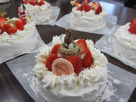 西小デイ ケーキ色々