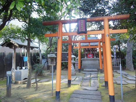 アビの生地の神社