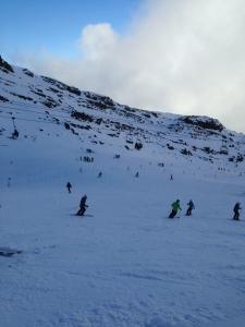 初スキー1
