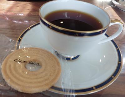 CLUBHARIEとコーヒー