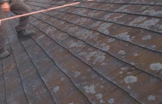 外壁屋根改修工事屋根2