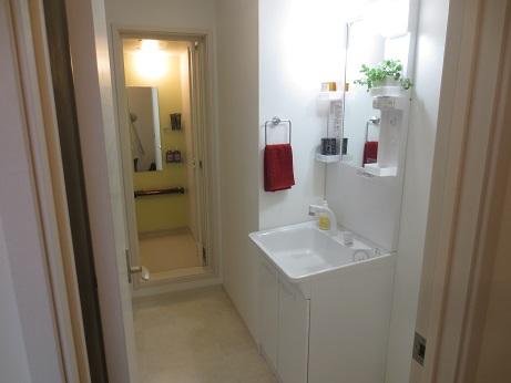 武蔵境洗面台浴室
