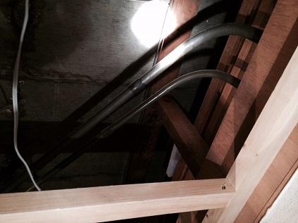 築40年天井配管
