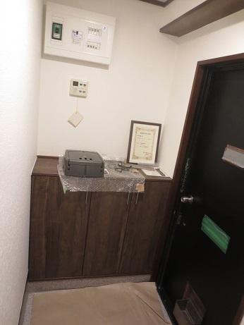 大岡山完成玄関