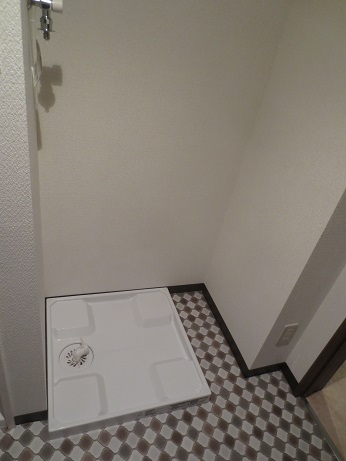 大岡山完成洗濯機置き場
