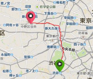 歌舞伎町ランニング