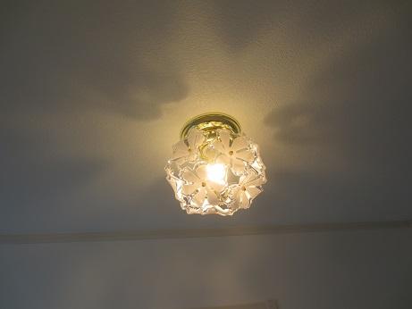 三鷹物件洗面所照明