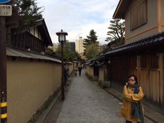 金沢土壁の小路