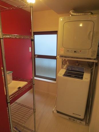 MBAシェアハウス洗濯機