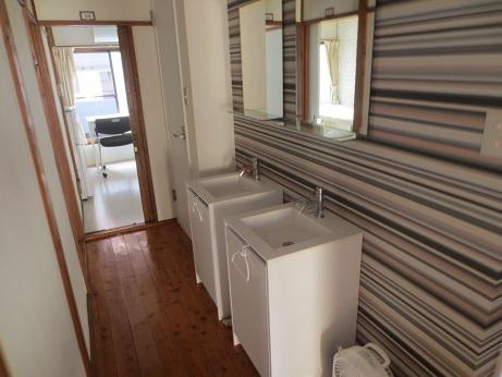 MBAシェアハウス洗面2階