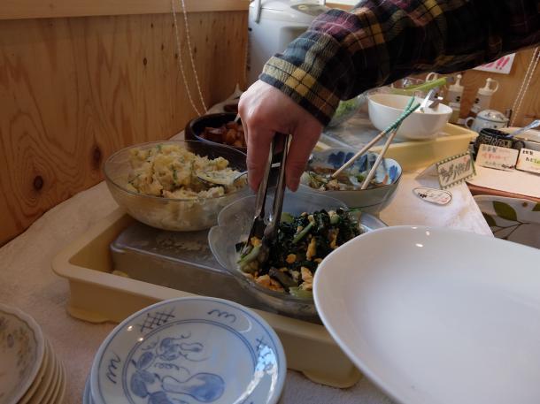 サラダ惣菜バイキング