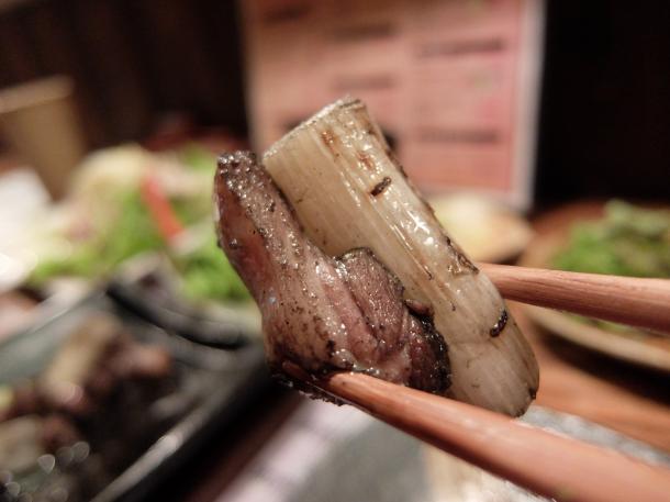 福鴨のネギ炙り焼き