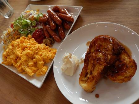 平成27年 元日の朝食 フレンチトースト