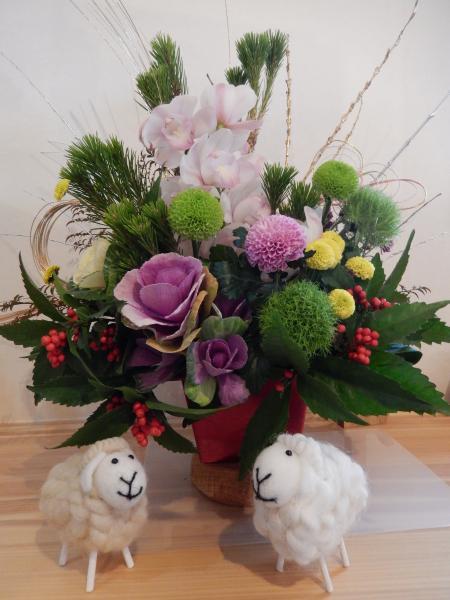 平成27年 お正月の花