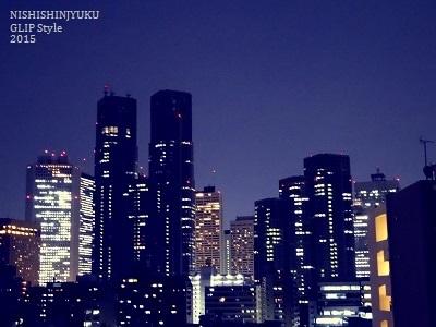 西新宿ビューハイツ夜景001
