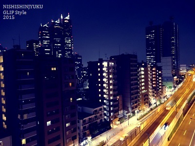 西新宿ビューハイツ夜景002