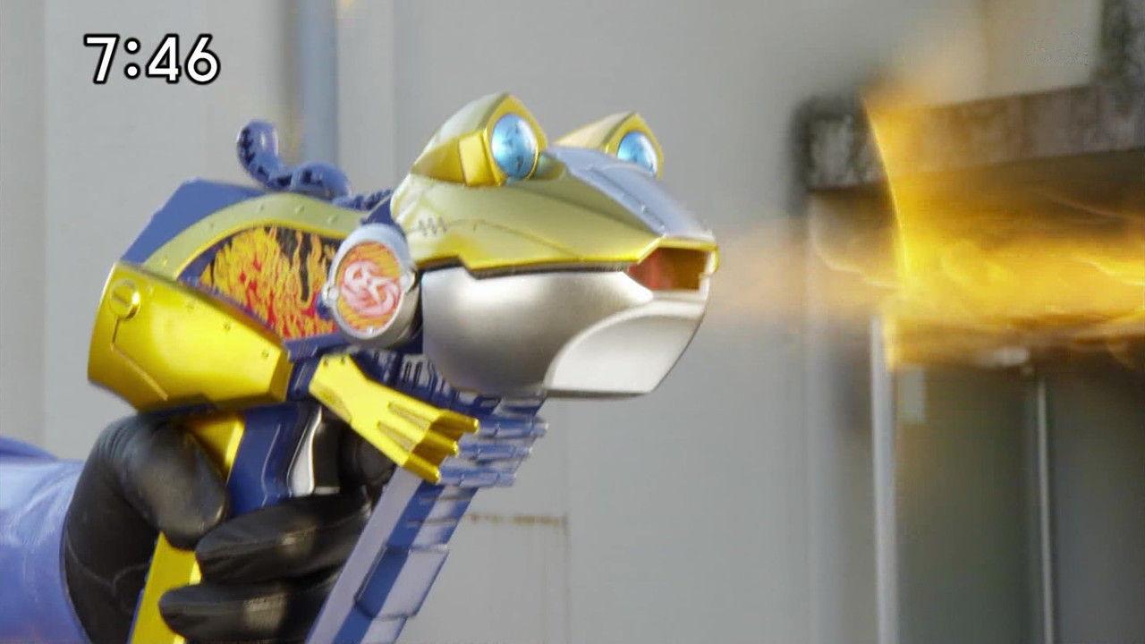 ニンニンジャー#1蛙銃
