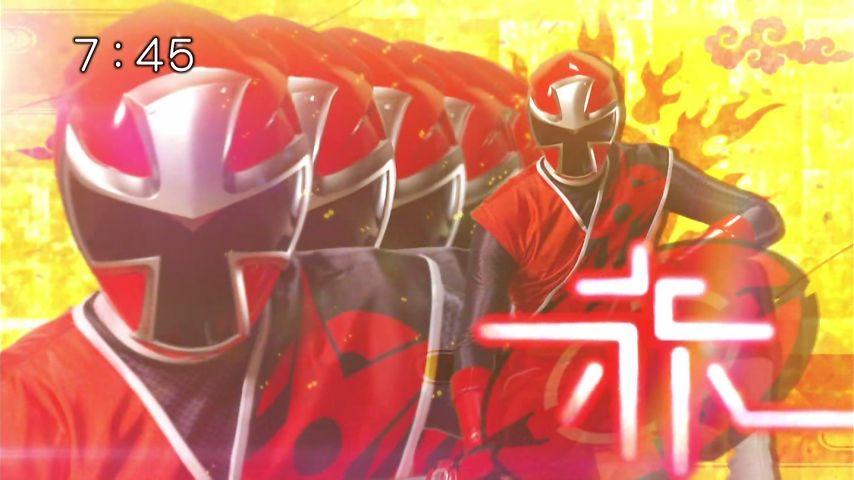 ニンニンジャー#1アカニンジャー!
