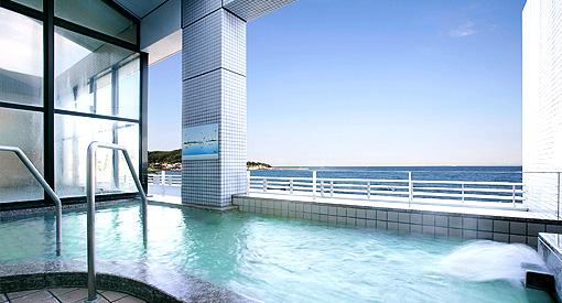 休暇村館山の風呂