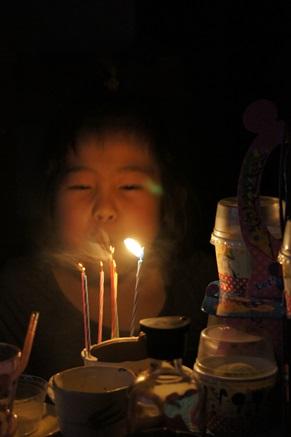 7歳誕生日