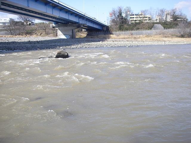 利根川中央大橋下左岸上流午前9時36分