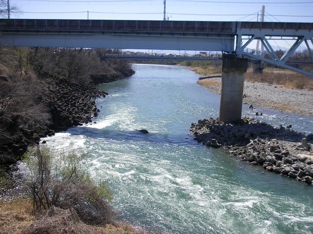 P3270674 2o15年3月27日利根川利根橋上より撮影午前11時30分頃 (大嶋)