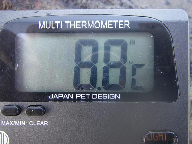 2015年4月23日利根川大渡橋左岸上流午前7時15分頃(大嶋)