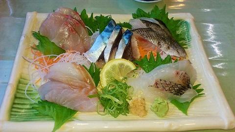 地魚刺盛り