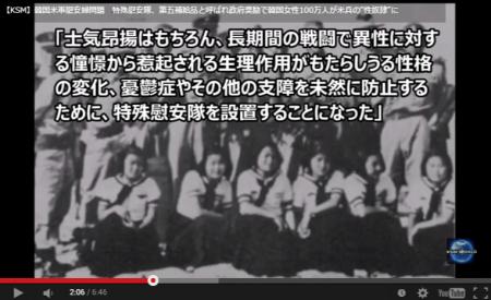 【動画】韓国軍慰安婦 漢城大学教授「韓国陸軍が慰安隊を運営。計9か所に89名の慰安婦が動員された」…慰安隊は『第五種補給品』と呼ばれていた [嫌韓ちゃんねる ~日本の未来のために~ 記事No3097