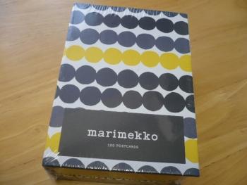 マリメッコのポストカード100!1