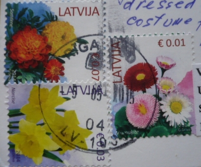 【postcrossing(received)】No738-3