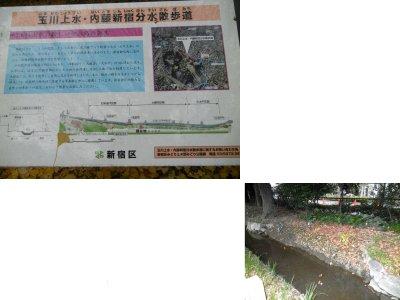玉川上水・内藤新宿分水散歩道