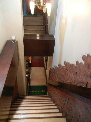 地下への階段