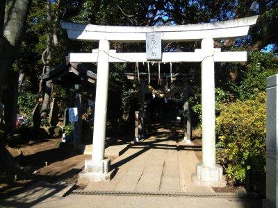 日枝神社・鳥居