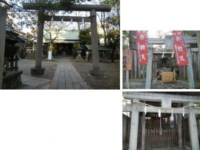 千住仲町・氷川神社