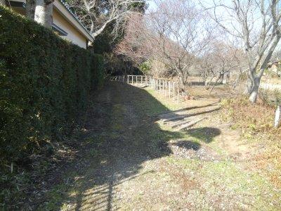 金堀城を巡る入口
