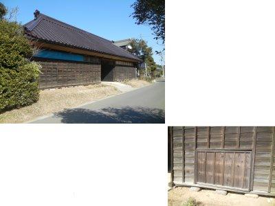 馬小屋のある長屋門