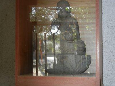 自休大徳座像