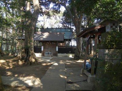 八王子神社・拝殿