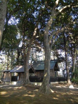 八王子神社・環境保存地区
