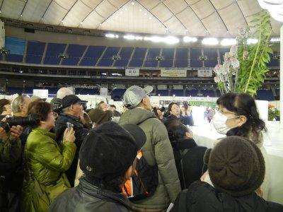 日本大賞を眺める人々