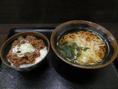 ドテ煮丼セット@620円