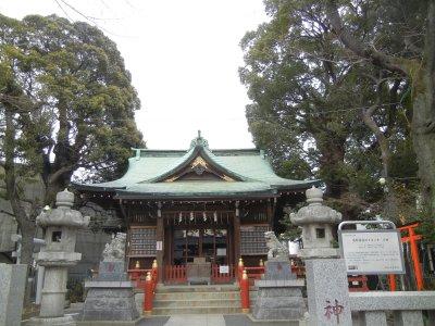 熊野神社のクスノキ